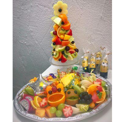 豪華なフルーツプレート