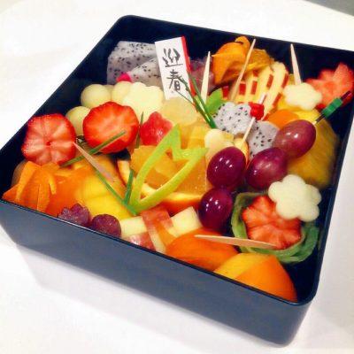 新年のフルーツ御節