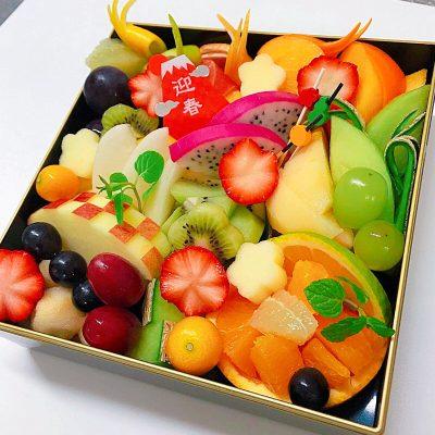 フルーツ御節